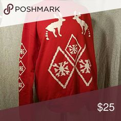 Raindeer Poo Christmas Sweater Men or Women Take a dump on chrismas with this sweater. Medium for Men or Large for Women Sweaters
