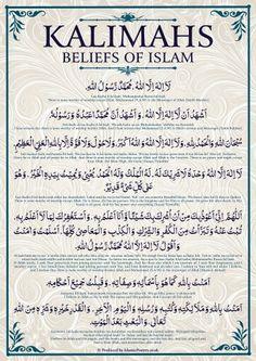 Kalimah Beliefs of Islam
