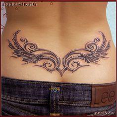 Lower Back Tattoos | Tattoo Tribal | Arte Tattoo - Fotos e Ideias para Tatuagens