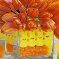 Fun Whimsicle Easter Centerpiece !