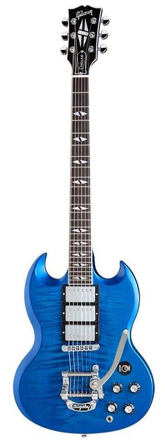 Gibson SG Deluxe...not normally an SG fan, but I do like this one.