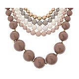5 strand beaded couto necklace