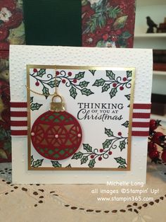 Hi friends! Have you had a chance to enjoy the new Stampin' Up! Holiday Catalog? I want to draw your attention to a few of my favorite features: Precision Plate I just have to mentions the a...