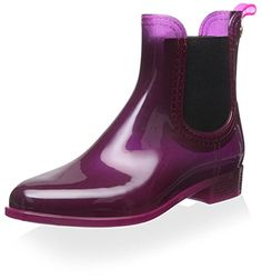 Gioseppo Womens Short Rain Boot Burdeos 40 M EU10 M US -- Continue to the product at the image link.
