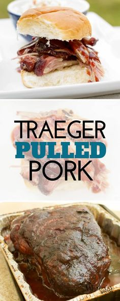 Traeger Pulled Pork takes your typical crock-pot version and puts it RIGHT TO SHAME. There is no pulled pork like a smoked pulled pork, and doing it at home is definitely the way to go when you are feeding an entire crowd. Traeger Pulled Pork We've been e Traeger Pulled Pork Recipe, Traeger Bbq, Smoked Pulled Pork, Traeger Recipes, Pulled Pork Recipes, Barbecue Recipes, Grilling Recipes, Smoked Pork Roast, Grilling Tips