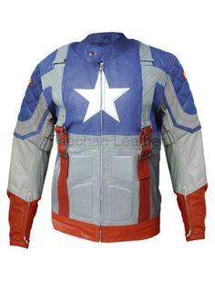 Assertive Desingers Men's Avengers Leather Jacket
