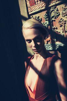 Aymeline Valade by Arnaud Pyvka for Bergdorf Goodman Magazine Pre Fall 2014 - Givenchy