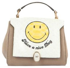 Anya Hindmarch Have A Nice Day Cross Body Bag. Get the trendiest Cross Body Bag of the season! The Anya Hindmarch Have A Nice Day Cross Body Bag is a top 10 member favorite on Tradesy. Save on yours before they are sold out!