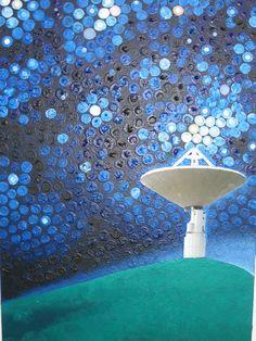 Art work for Cosmos Chardonnay label Cosmos, Art Work, Label, Artwork, Work Of Art, Space, Outer Space