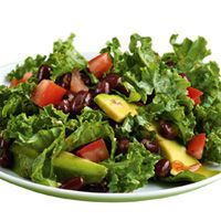 Black Bean, Avocado, & Kale Salad
