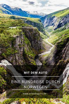Roadtrip durch Norwegen - mit dem Auto durch die unglaubliche Landschaft.