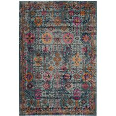 Bernice Light Blue Area Rug