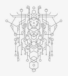 circuit board vector, perfect for my inner technology geek