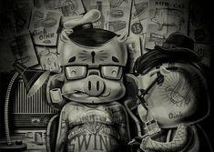Pig & Ink by Travis Price