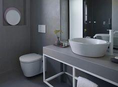 Projeto equipado com torneiras Flow, da Waterevolution, um exclusivo da Padimat Design + Technic Showroom, Double Vanity, Bathroom, Design, Taps, Construction Materials, Kitchens, Log Projects, Washroom