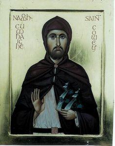 St. Cowey of Ireland - Aidan Hart Sacred Icons