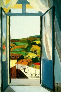 french window in blue. Françoise Gilot is a French painter and bestselling author. She is also known as the lover and artistic muse of Pablo Picasso from 1944 to 1953, and the mother of his children, Claude Picasso and Paloma Picasso