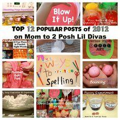 Mom to 2 Posh Lil Divas: Top 12 Most Popular Posts of 2012 on Mom to 2 Posh Lil Divas