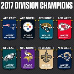 2017 Division Champions! WhoDat!!