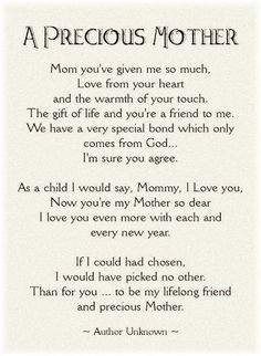 for you MOM....♡♡♡***