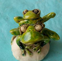 Big and Little Frogs by RudkinStudio, Louisville, Colorado