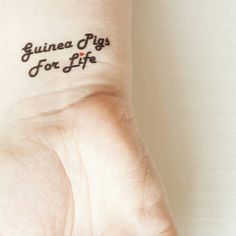 Pulling out the temporary tattoos for some bank holiday fun! Show your love for your pet without having to meet a needle. And you can change your tattoo to suit your mood. Bank Holiday, Holiday Fun, Gifts For Pet Lovers, Temporary Tattoos, Guinea Pigs, Pet Portraits, Sleeve Tattoos, Your Pet, Tattoo Quotes