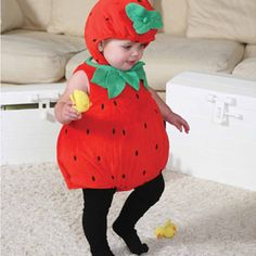 Baby Strawberry Dress Up – Time to Dress Up