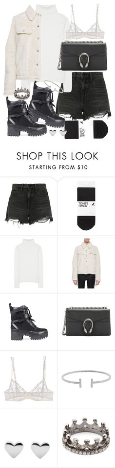 """Untitled #20415"" by florencia95 ❤ liked on Polyvore featuring Alexander Wang, H&M, Chloé, MM6 Maison Margiela, Gucci, La Perla, Humble Chic and Loree Rodkin"
