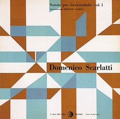 Heinz Waibl / Domenico Scarlatti #album cover art -- 1959