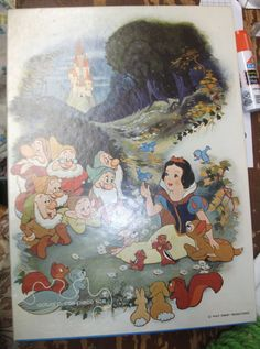 Vintage Springbok (Hallmark) child's jigsaw puzzle of Disney's Snow White and the Seven Dwarves. No missing pieces, box in perfect shape! SOLD on eBay!