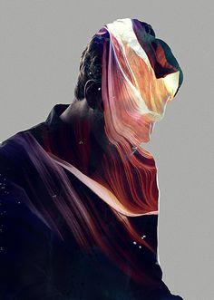 Art Direction for Calvin Goldspink . Photography | Positive Negative | Portrait |