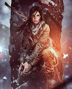 Yes I know its Lara Croft but- it looks so much like JJ Tomb Raider Lara Croft, Tomb Raider Game, Fantasy Characters, Female Characters, Character Inspiration, Character Art, Mononoke Anime, Tom Raider, Lara Croft Cosplay