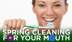 If Spring Cleaning is your thing, you've probably cleaned out the garage & attic and given your house a good scrubbing. Next step: Your mouth? Here are a few deep cleaning tips for your mouth: 1. Replace your toothbrush. Try swapping to an electric toothbrush. 2. Start flossing daily if you don't already. 3. Try a tongue scraper for fresh breath. 4. Top off your mouthwash. 5. Schedule a teeth cleaning today with Dr. Montee!