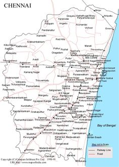 Chennai Map Pdf 36 Best TamilNadu Map images | Maps, India map, India travel
