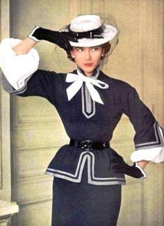 Vintage Fashion; 1950