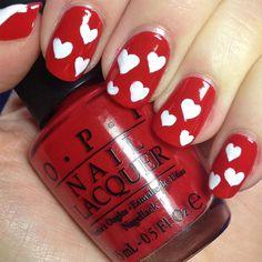 Uñas decoradas de San Valentín - Love Nails | Decoración de Uñas - Manicura y NailArt - Part 3