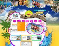 EdgeWater Resort & Waterpark by Syed Mothar Alam, via Behance