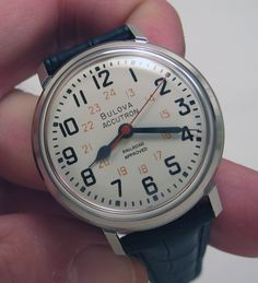 """Accutron 214 """"Railroad Approved"""""""