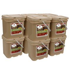 Wise Company 600 Serving Meat Package (10 Freeze Dried Meat Buckets) - NuMercy.com