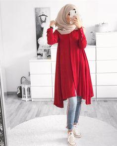 mentions J'aime, 51 commentaires – Ebru ( Modern Hijab Fashion, Street Hijab Fashion, Muslim Fashion, Niqab Fashion, Islamic Fashion, Outfits Casual, Casual Hijab Outfit, Fashion Outfits, Dress Casual