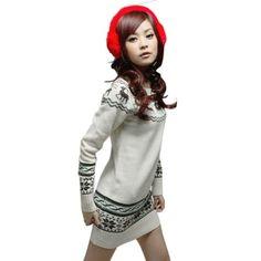 Asoidchi Womens Loose Striped Christmas Deer Knitted Pullover Sweater asoidchi,http://www.amazon.com/dp/B00H3ZQKRW/ref=cm_sw_r_pi_dp_7wDYsb1XRE0PMNBD