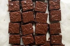 Dark Chocolate Brownies Recipe  |              grain-free, refined sugar-free, and dairy-free recipe  |   Food52