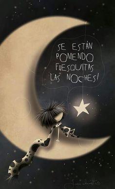 A mí estrella le hablo de ti todas las noches...