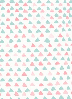 pastel triangles 2 |  Georgiana Paraschiv