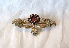Dainty Victorian style Collar Pin Brooch by MargsMostlyVintage, $10.00