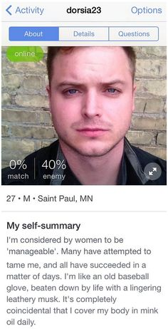 Best dating profile summary