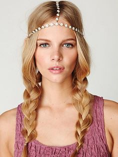 Daisy Chain Headpiece  www.freepeople.co...