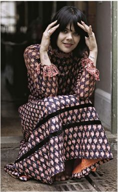 Bat for Lashes beauty
