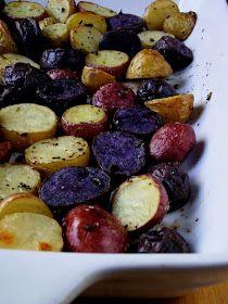So Domesticated: Roasted Gemstone Potatoes...