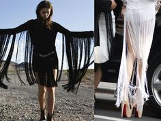 diy extreme fringing by apairandaspare, via Flickr